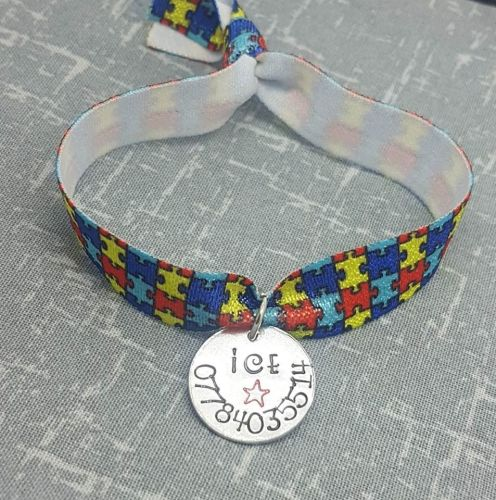 ICE Bracelet - Elasticated Bracelet - Different patterns available