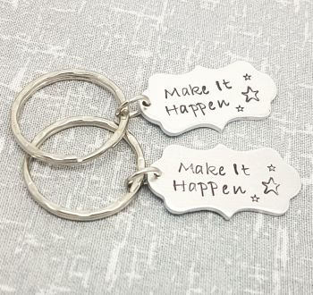 Make It Happen Keyring