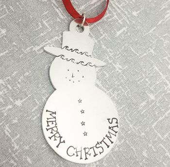 Snowman - Merry Christmas - Christmas Decoration