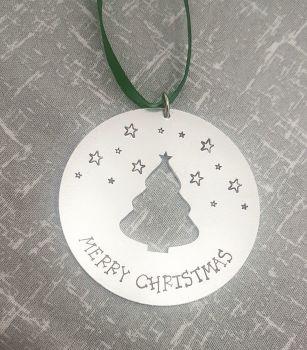 Merry Christmas - Round Tree - Christmas Decoration