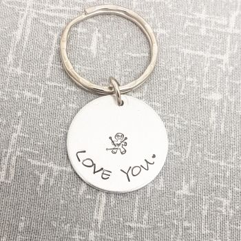 Love You - Voodoo Doll keyring