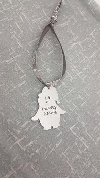 Penguin - Merry Xmas - Christmas Decoration