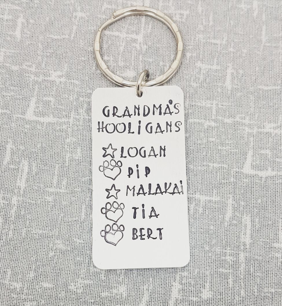 Hooligans Keyring - Family member of your choice!