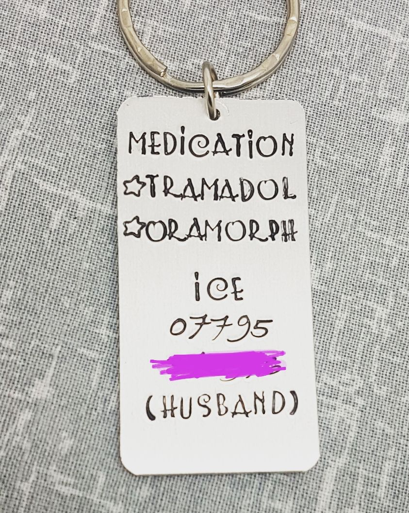 Medication Keyring