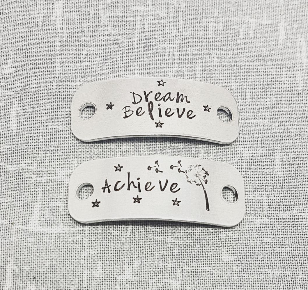 Dream Believe Achieve Trainer Tags