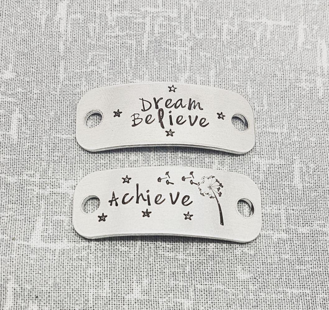 Dream Believe Achieve Trainer Tags