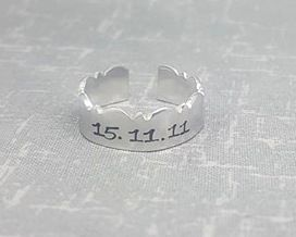 Wavy Ring - Date