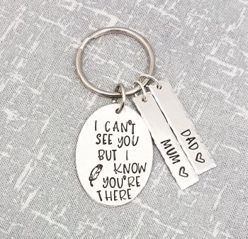 I Can't See You... Keyring