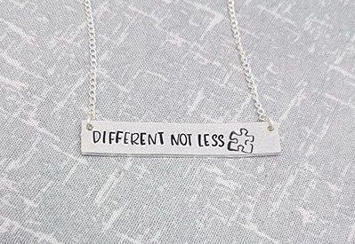 Different Not Less - Bar Necklace