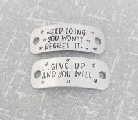 Keep going you wont regret it.... give up and you will... Trainer Tags