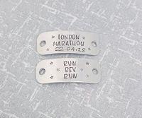 London Marathon - Run (name) Run - Trainer Tags