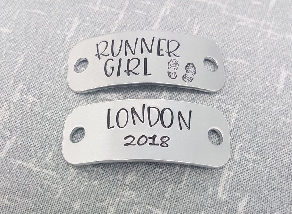 Runner Girl - London Marathon Trainer Tags