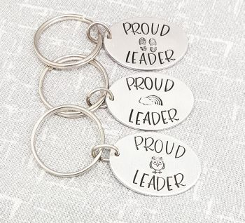 Proud Leader Keyring - Choose your design