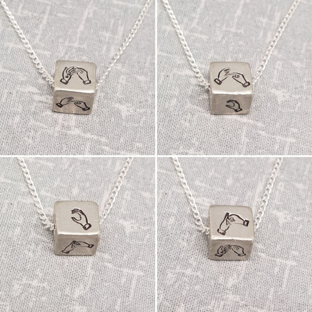 BSL Cube Necklace **TESTER PRICE OFFER **