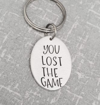 You Lost The Game Keyring