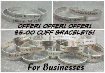 Business Cuff Bracelets