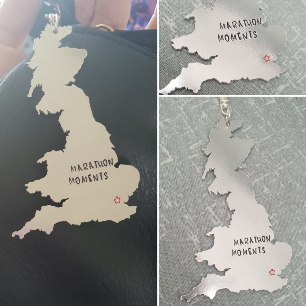 Marathon Moments - UK Keyring - You pick your marathon stars!