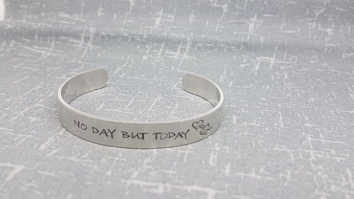 No Day But Today Cuff Bracelet