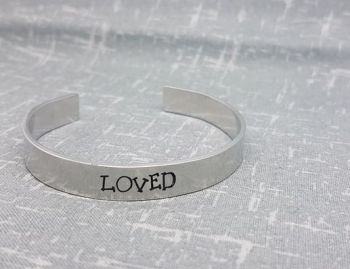 LOVED Cuff Bracelet