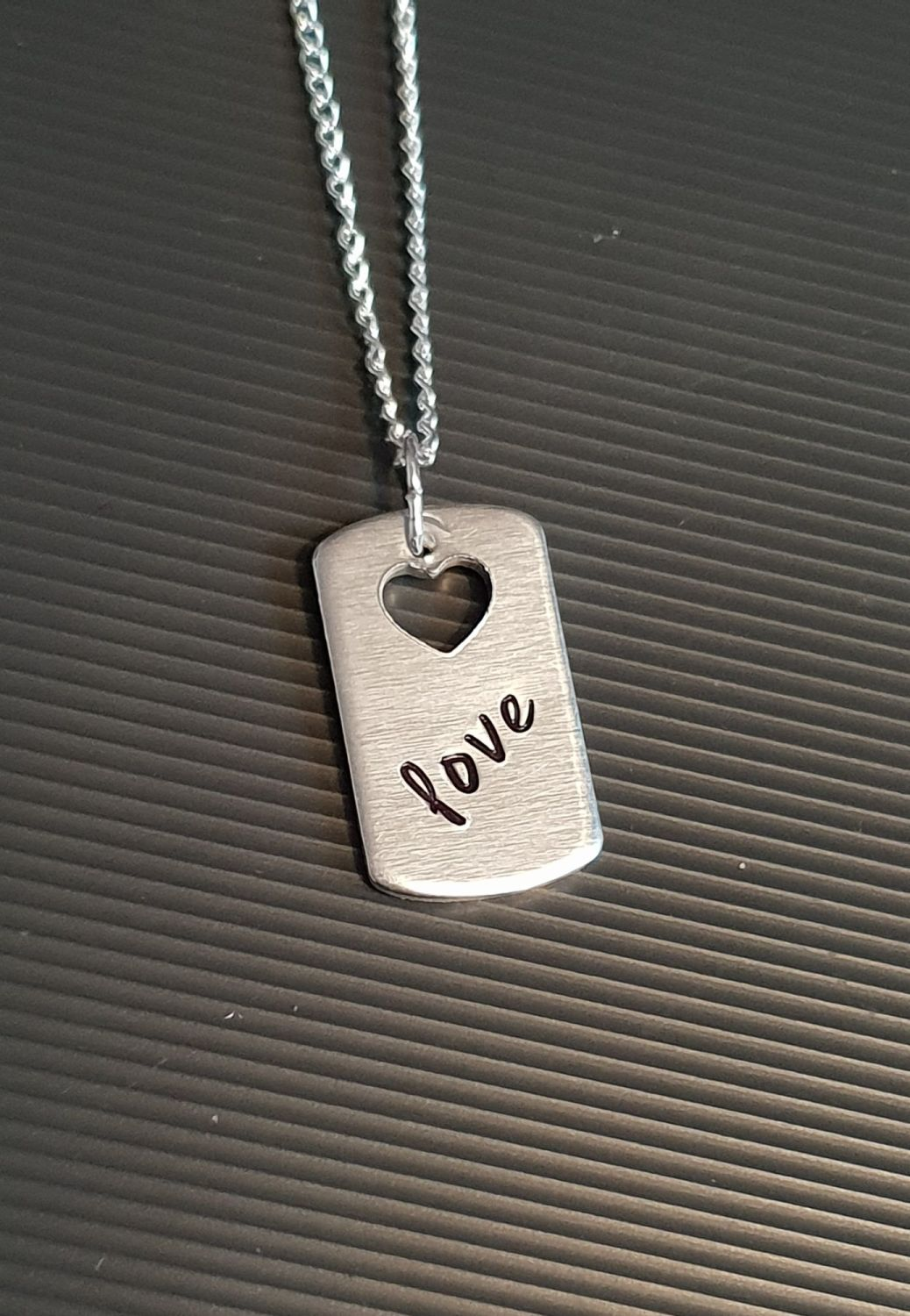 Love - Dogtag Necklace