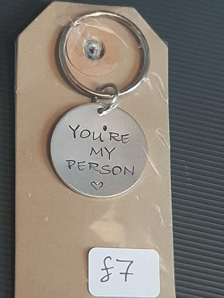 You're My Person - Keyring