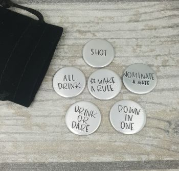Drinking Game Token Set