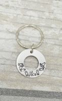 BSL Washer Name Keyring