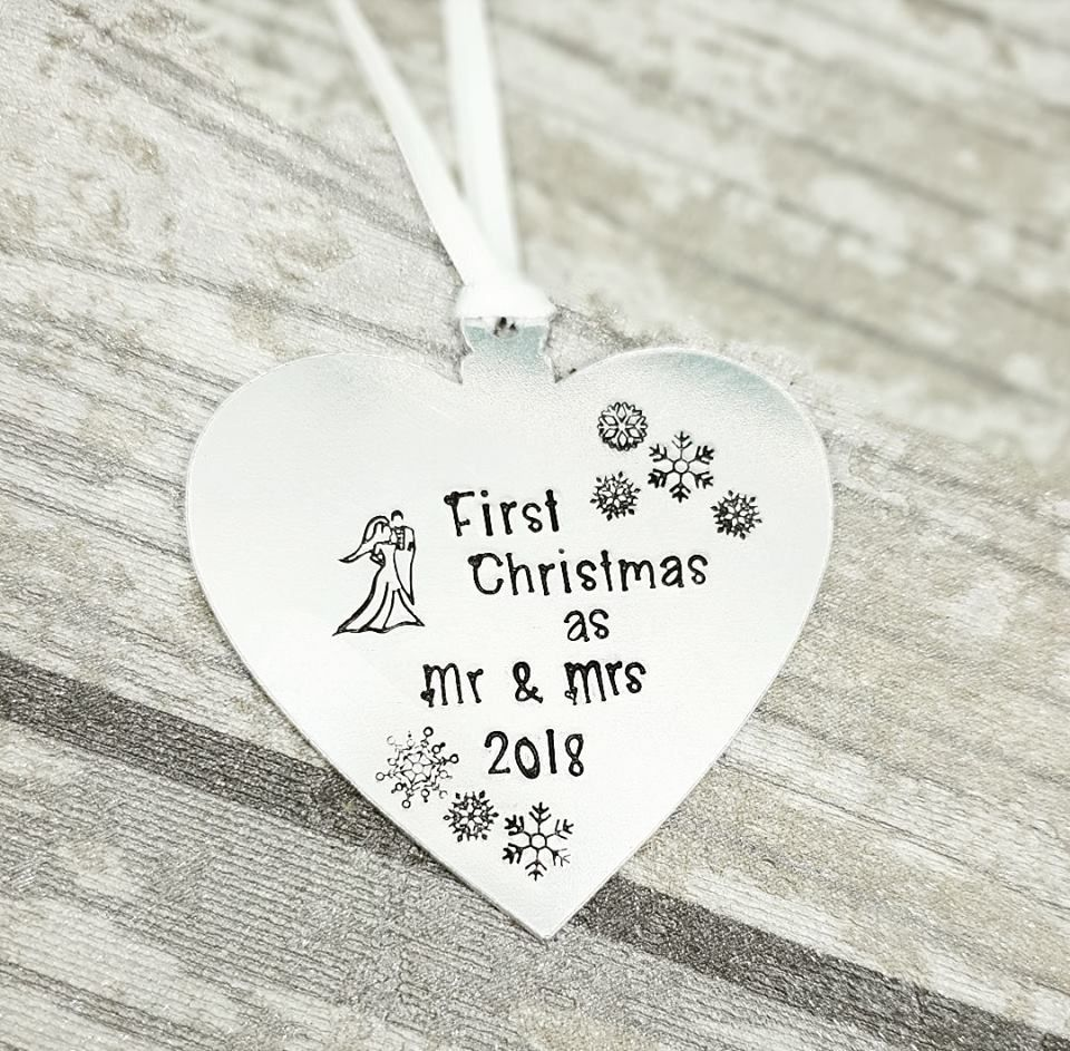 First Christmas as Mr & Mrs 2018 - Christmas Decoration
