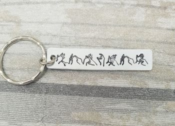 "BSL  ""TEACHER"" KEYRING"