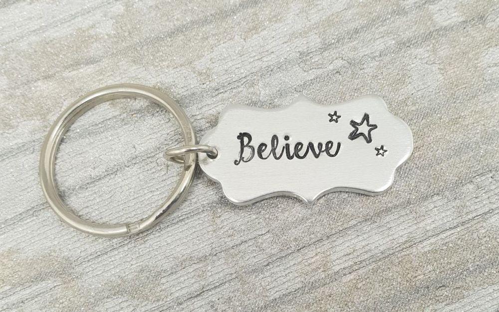 004 - Believe keyring