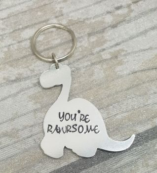 009 - You're Rawrsome keyring