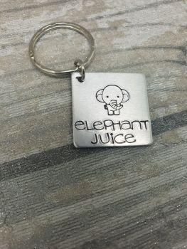015 - Elephant juice keyring