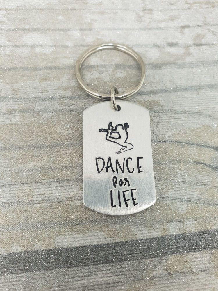 016 - Dance for life keyring