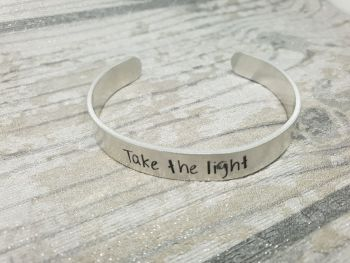 021 - Take the light cuff bracelet