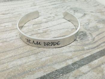 024 - Team Bride cuff bracelet