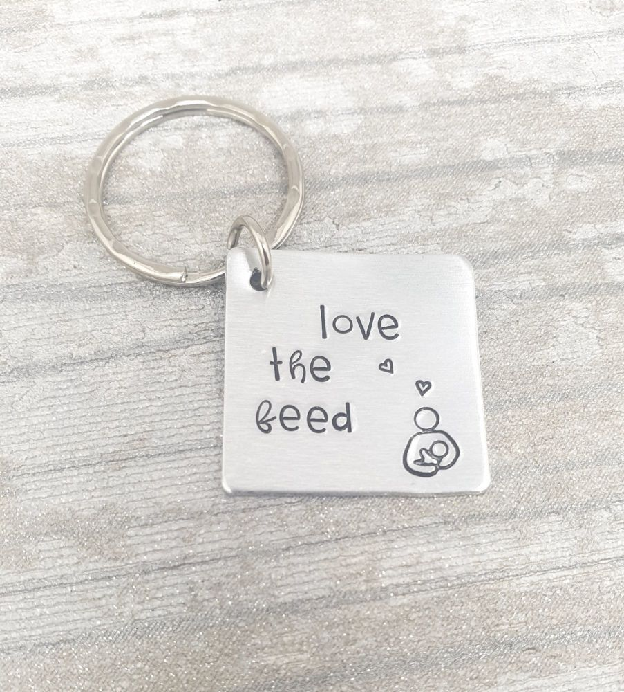 Love the feed Keyring