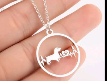 Dachshund Necklace - PRE ORDER