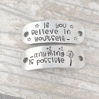 If you believe in yourself.. anything is possible- Trainer Tags