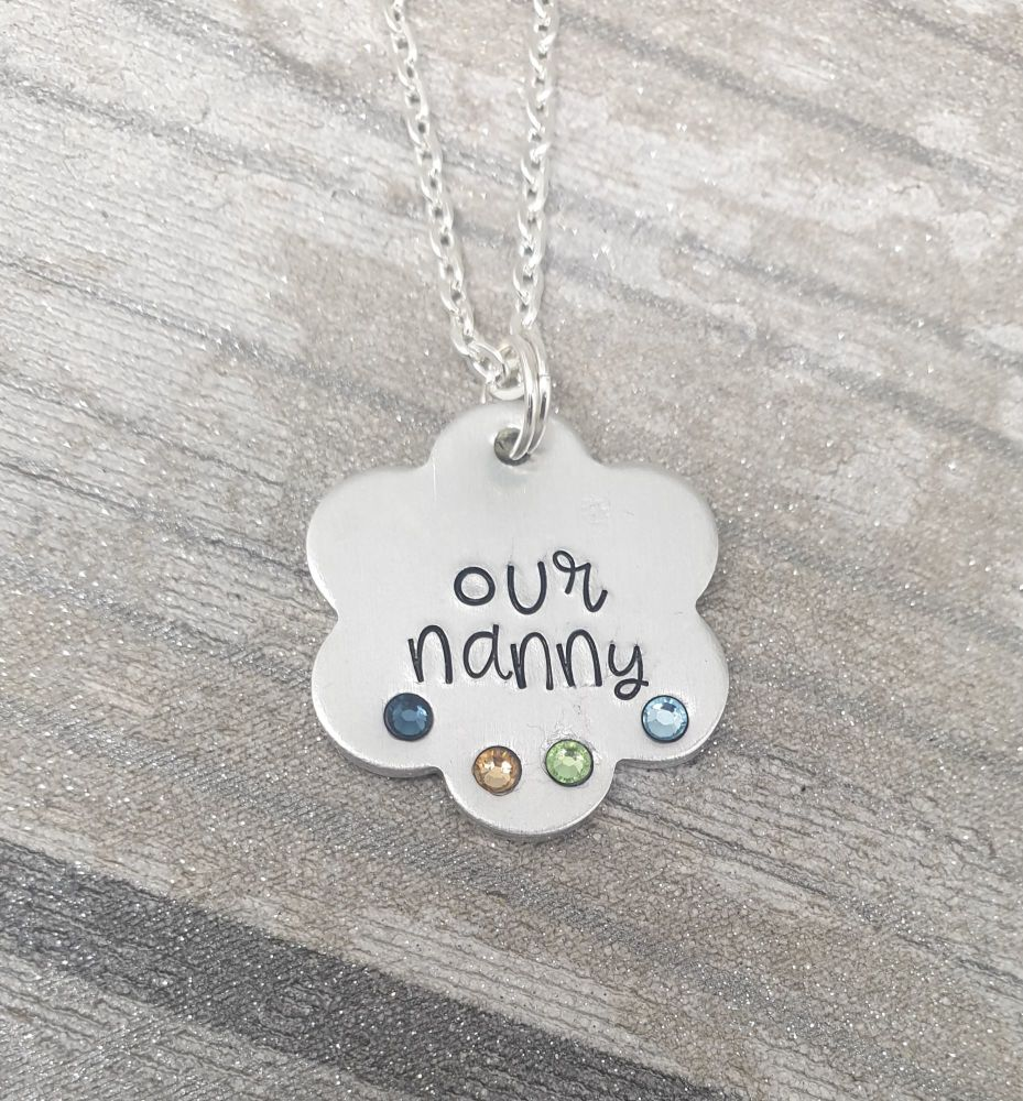 Flower Necklace - Perfect for Mummy/Nanny
