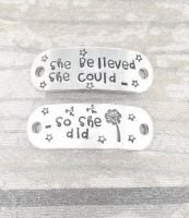 She Believed She Could.. So She Did... Trainer Tags
