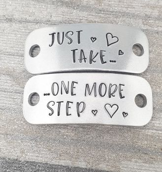 Just take... one more step - Trainer Tags