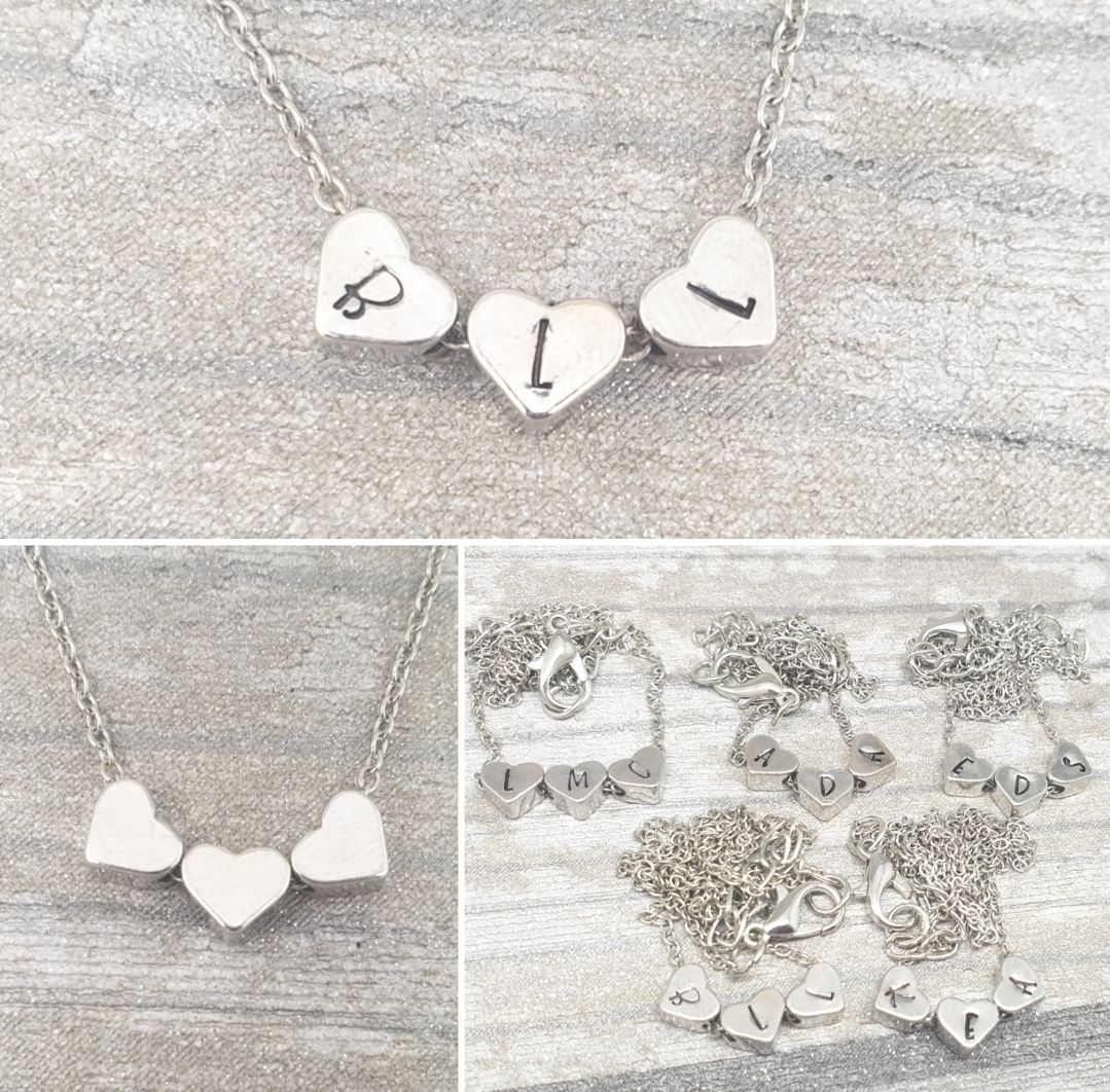 *Pre Order* Dinky Heart Bead Necklace