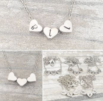 Dinky Heart Bead Necklace