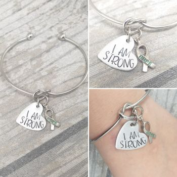 I AM STRONG - HOPE Bangle - Mental Health Awareness