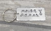 Best Daddy - BSL  Keyring