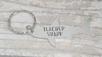 Teacher Shark Keyring