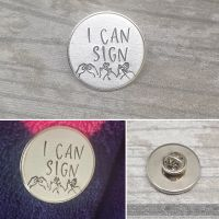 I Can Sign BSL Badge OFFER