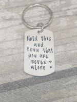 Worry Keyring - Hold this and know that you are never alone - Anxiety Helper