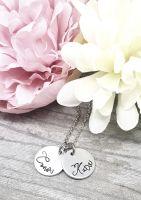Disc Name Necklace