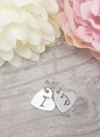 Initial Heart Necklaces